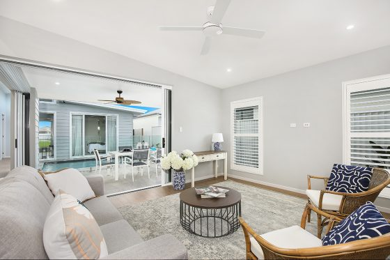 Greenearth display home at Pelican Waters Display Village Caloundra 8