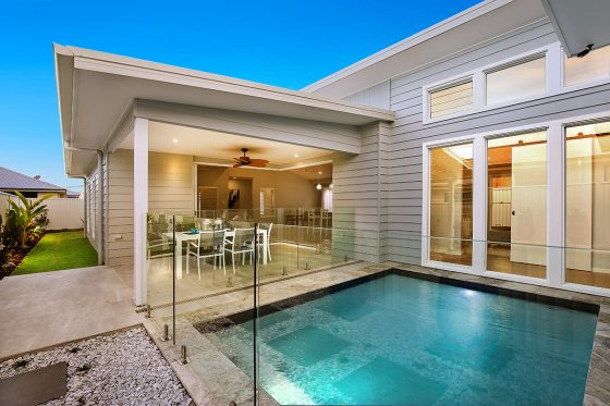 Greenearth display home at Pelican Waters Display Village Caloundra 3