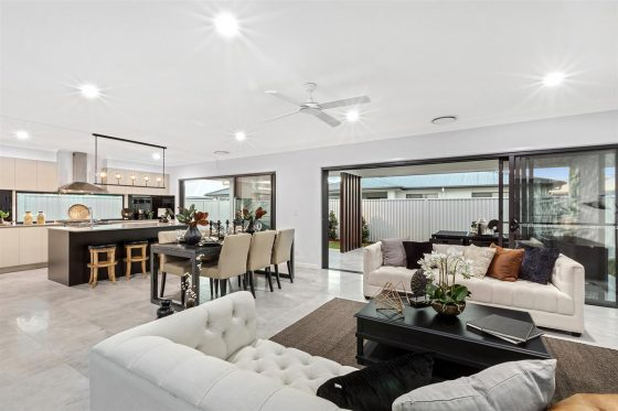 gj gardner display home at Pelican Waters Display Village Sunshine Coast 7