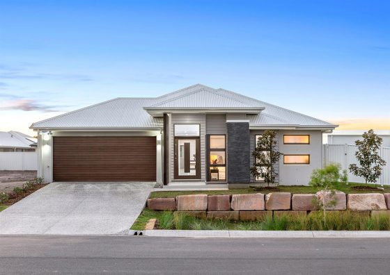 gj gardner display home at Pelican Waters Display Village Sunshine Coast