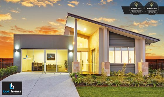 Look Homes display home at Pelican Waters Display Village Sunshine Coast