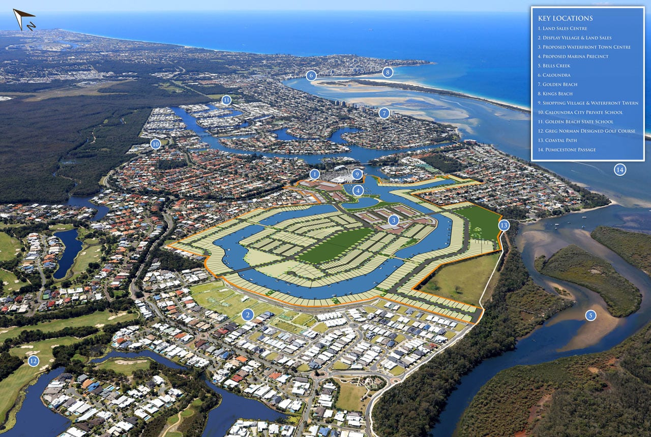 Pelican Waters Master Planned Community Sunshine Coast