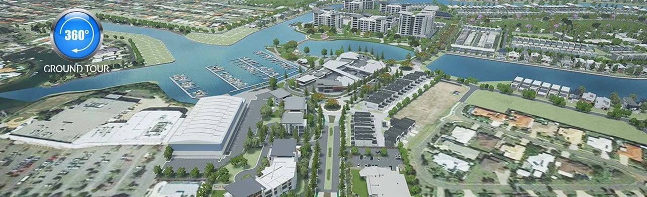 pelican waters town centre and marina sunshine coast