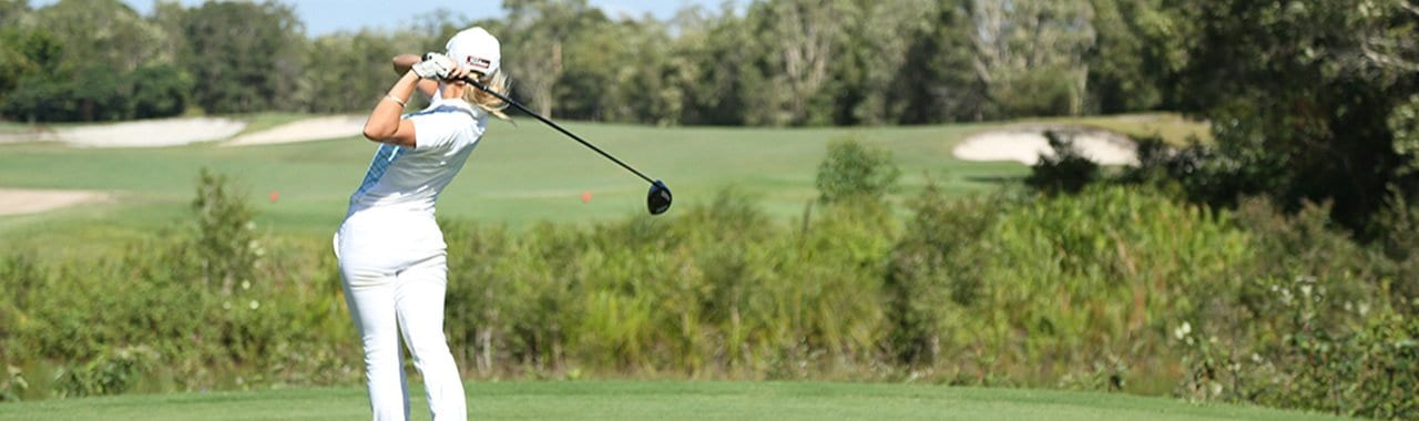 golf at pelican waters