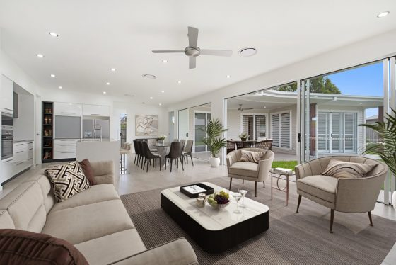 gj gardner display home at Pelican Waters Display Village Sunshine Coast 9