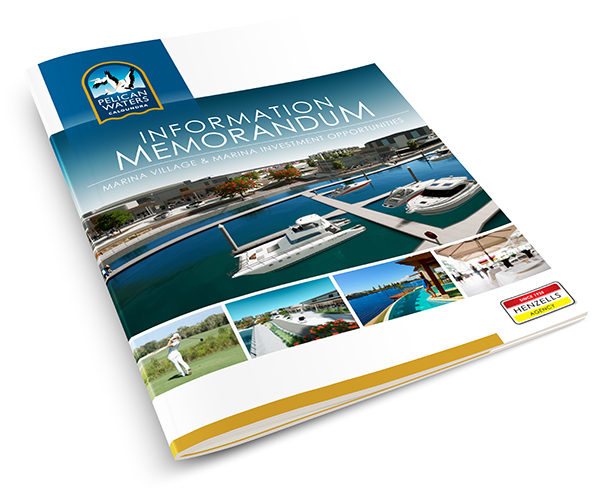 pelican waters marina and village information memorandum