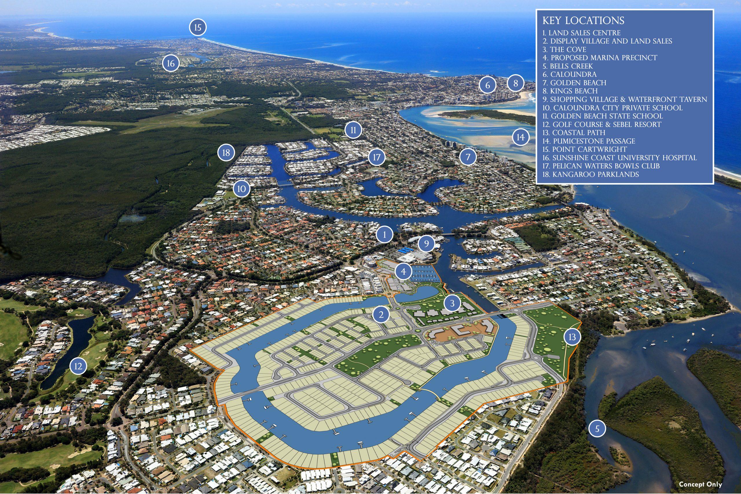 Pelican Waters Master Plan