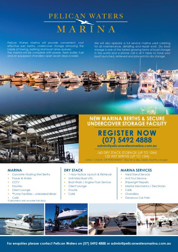 Pelican Waters Marina Info Sheet 2021